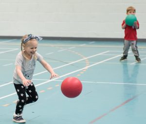Children being physically active to help mental health