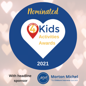 Whats on 4 Kids Award Nomination 2021